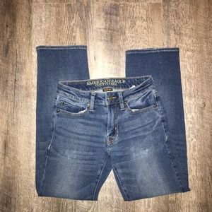 American Eagle Straight Jeans: 26/28